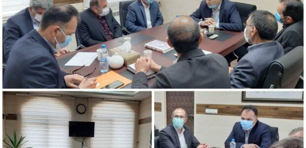 نشست شهردار با فرماندار و مدیرکل راهداری و پایانه ها